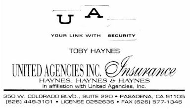 Untited Agencies Inc. Insurance